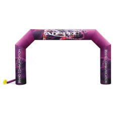 Inflatable Air Arch , Full Colour Dye Sub, 18W x 11H