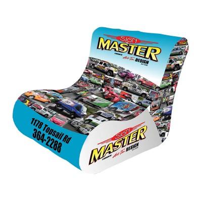 Inflatable Air Chair , Full Colour Dye Sub