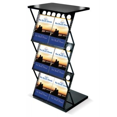 Portable Folding Catalog Shelf