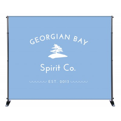 8'x 10' Fabric Stand - Deluxe