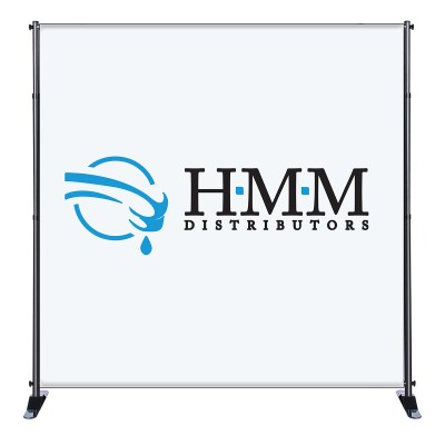 8'x 8' Fabric Stand - Deluxe