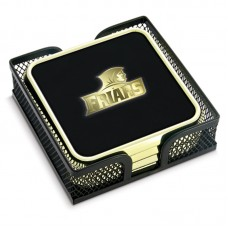 Set of 4 Square GTS in Metal Mesh Stand with Color Hotstamp