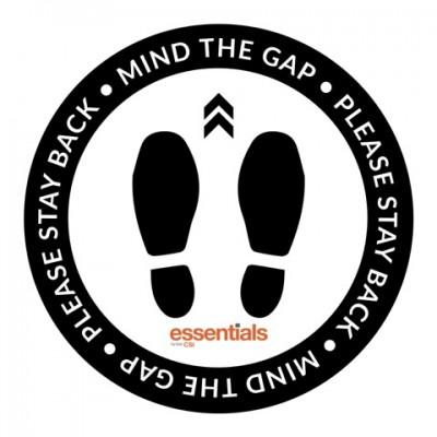 Mind the Gap - Floor Sticker - 18