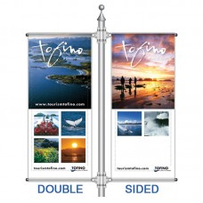 3' x 2' Boulevard Banner , Double Kit, 2 sided print