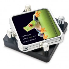 Set of 2 Square STS in Posted Stand with Digital Insert