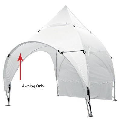 10' x 10' Arched Canopy Awning - Blank