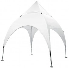 10' x 10' Arched Canopy and Frame - Blank