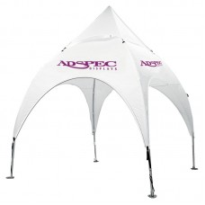 10' x 10' Arched Canopy and Frame - 2 Imprint Locations