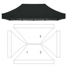 10x15' Replacement Canopy - 3 Imprint Locations