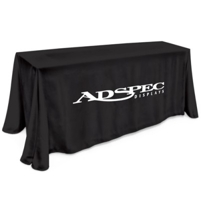 6' Table Cloth - 1 Color Thermal Imprint