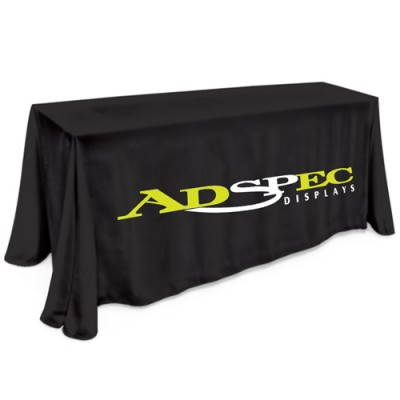 6' Table Cloth - 2 Color Thermal Imprint