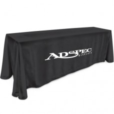 8' Table Cloth - 1 Color Thermal Imprint