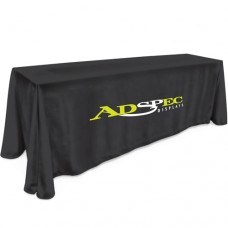 8' Table Cloth - 2 Color Thermal Imprint