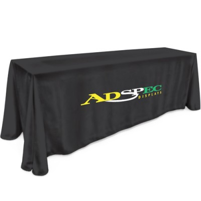 8' Table Cloth - Full Color Thermal Imprint