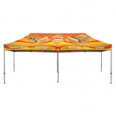 20' Heavy Duty Canopy and Frame - Full Color Dye Sublimated