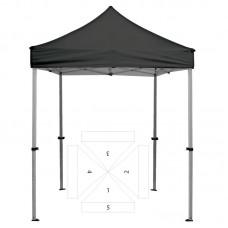 8' Square Tent - 5 Imprint Locations