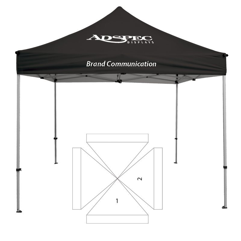 10\' x 10\' Transporter Canopy and Frame - 2 Imprint Locations