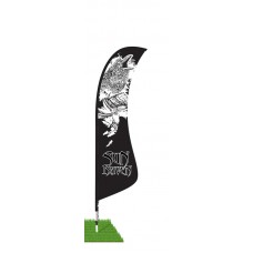 13' Blade Wind Flag Kit - Single Sided