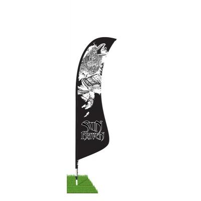 13' Blade Wind Flag Kit - Single Sided