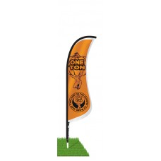 9' Blade Wind Flag Only - Single Sided